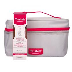 Mustela Maternité Huile Prévention Vergetures 105ml + Trousse offerte
