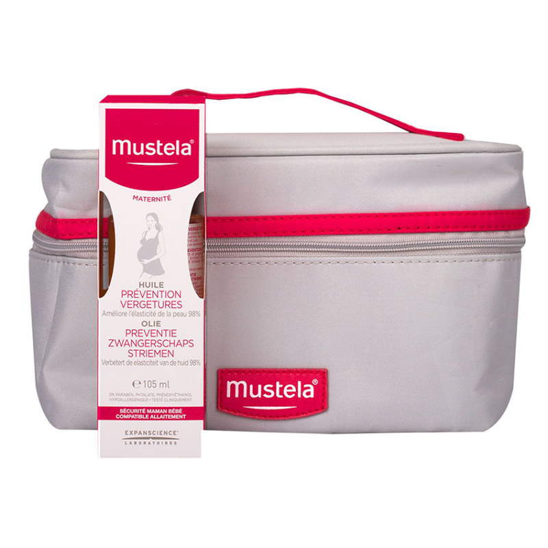 Mustela Maternité Huile Anti-Vergetures 105ml + Trousse Offerte