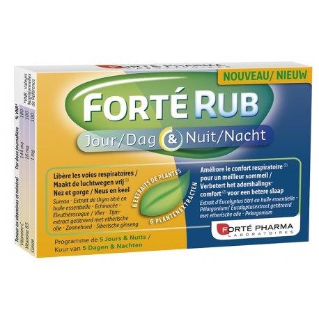 Forte Pharma Forté Rub Jour & Nuit 15 Gélules