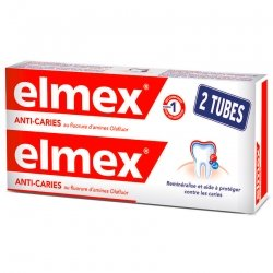 Elmex Dentifrice Anticaries tube 2x75ml