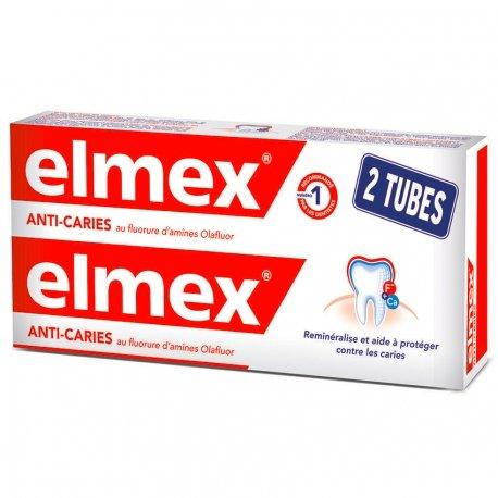 Elmex Dentifrice Anticaries tube 2x75ml