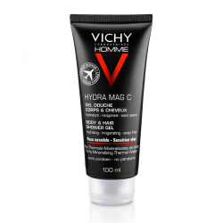 Vichy Homme Hydra Mag C Gel douche corps & cheveux 100ml