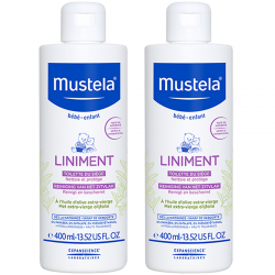 Mustela Duo Pack liniment 2x400ml