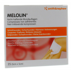 Melolin cp ster    5x 5cm  25 66030260