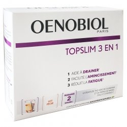 Oenobiol Topslim 3 en 1 (Drainage Amincissement Fatigue) 14 sticks