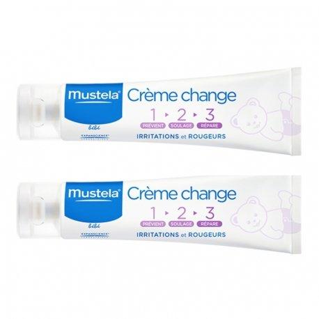 Mustela duopack bébé Crème Change 1-2-3 2x100ml