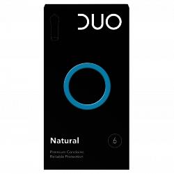 Préservatifs Duo Natural 6 pièces