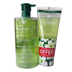 Furterer Naturia Shampooing 500ml + Shampooing 200ml offert