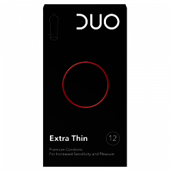 Préservatifs Duo Extra Thin 12 pièces