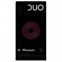 Préservatifs Duo G–Pleasure 12 pièces