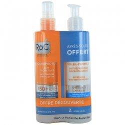 Roc Soleil Protect Pack Lait hydratant 200ml + Après-Soleil 200ml offert