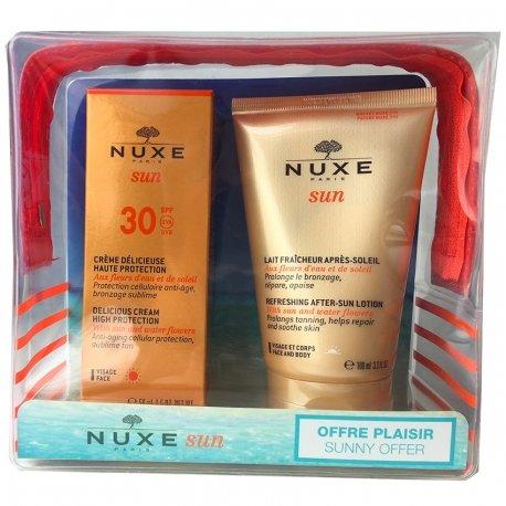 Nuxe Sun Trousse Crème délicieuse SPF30 50ml + Lait Fraîcheur Après-Soleil 100ml