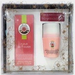 Roger & Gallet Coffret Fleur de Figuier Eau Parfumée 50ml + Déodorant Anti-Transpirant 50ml
