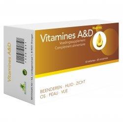 Vitamines a&d nutritic capsules 60