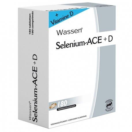 Sélénium – ace + d comprimes 180
