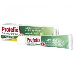 Protefix crème adhésive 40ml aloe vera