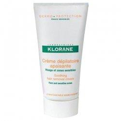 Klorane Depilatoires creme visage-zones sens. 75ml