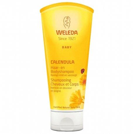 Weleda Baby Calendula Shampooing Cheveux & Corps 200ml