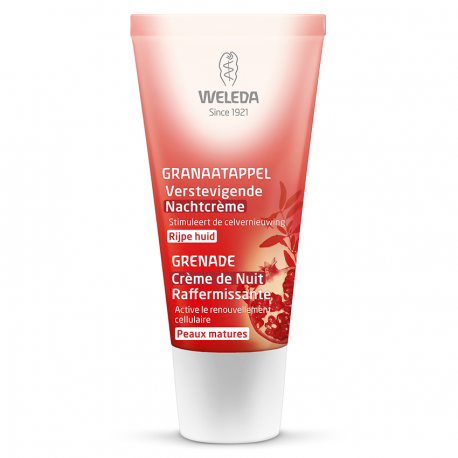 Weleda Grenade crème de nuit raffermissante tube 30ml