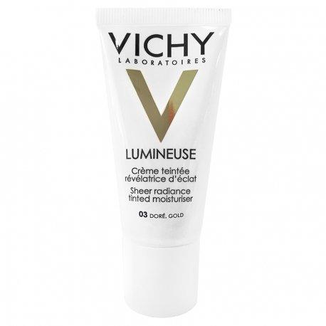 Vichy Lumineuse crème éclat doré 03 peau sèche 30ml