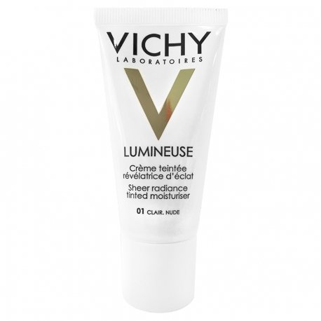 Vichy Lumineuse Crème Teintée Peau sèche clair 01 30ml