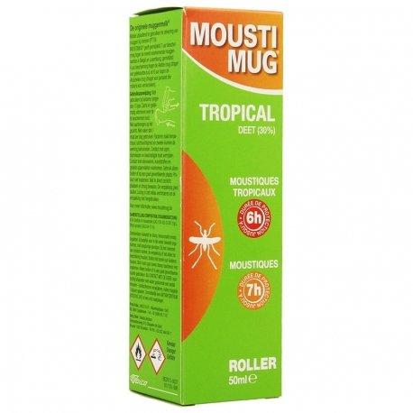 NE PAS VENDRE Moustimug tropical roller 50ml