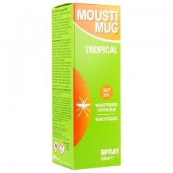Moustimug tropical spray 100ml
