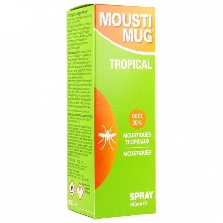 Moustimug tropical spray 100ml