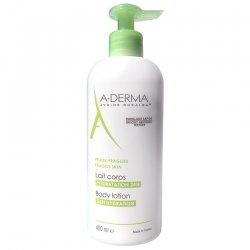A-derma lait corps hydratant pour peau fragile 400ml