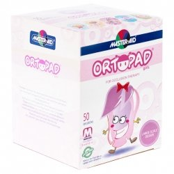 Ortopad For Girls Medium Cp Oculaire 50 73222