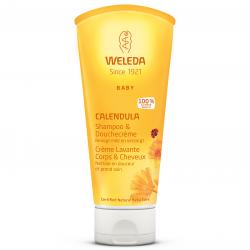 Weleda Calendula Baby Crème Lavante Corps & Cheveux 200ml