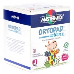Ortopad cotton pansements oculaires junior 50 boys 70171