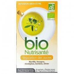 Nutrisanté Infusion Bio Régulation des Sucres 20 sachets