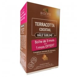 Biocyte Terracotta Cocktail Hâle Sublimé 90 Gélules (3 mois dont 1 OFFERT)