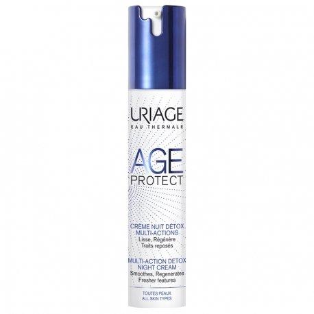 Uriage Age Protect Crème Nuit Détox Multi-Actions 40ml