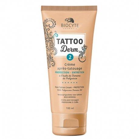 Biocyte Tattoo Derm 2 Creme Tatouage Protection 100ml