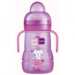 MAM Biberon de Transition Violet +4 mois 220ml