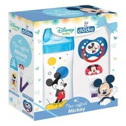 Dodie Mon Coffret Mickey: Biberon 330ml + Attache-Sucette Ruban + Sucette 18 mois