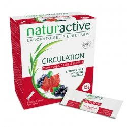 Naturactive Circulation Goût Fraise 15 sticks