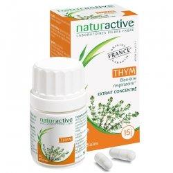 Naturactive Thym Bien-être Respiratoire 30 gélules