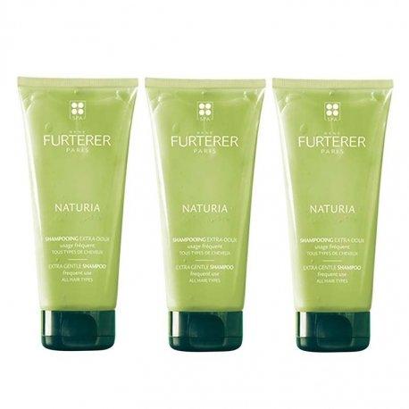 Furterer Naturia Trio Pack Shampooing Extra Doux 3x250ml