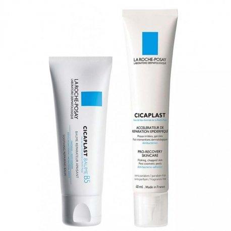 La Roche Posay Cicaplast Pack: Baume Réparateur Apaisant 100ml + Crème Pansement 40ml