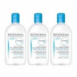 Bioderma Hydrabio H2O Trio Pack Solution Micellaire 3x500ml