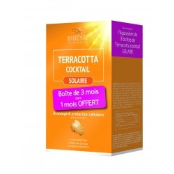 Biocyte Pack Terracotta Cocktail Solaire 90 comprimés