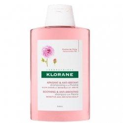 Klorane Shampooing apaisant à l'extrait de Pivoine 200ml
