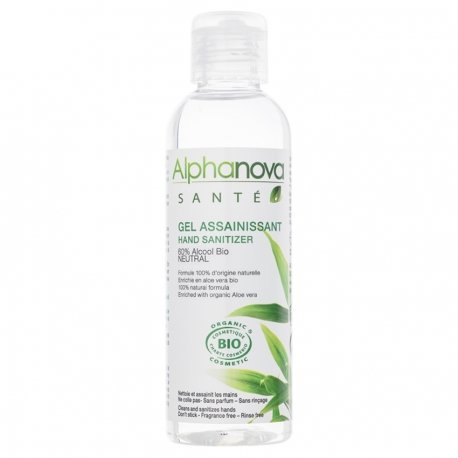 Alphanova Santé Gel Assainissant Mains Neutral Bio 100ml