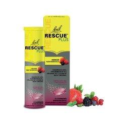 Bach Rescue Plus Energie Performance Fruits Rouges 15 comprimés effervescents