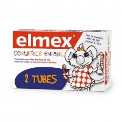 Elmex Dentifrice Enfant 2x50ml
