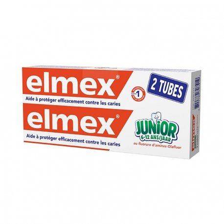 Elmex Dentifrice Junior 2x75ml