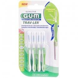 Gum proxabrush trav-ler blt4x1.1mm 1414